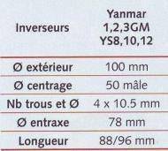 moteur yanmar type ys8